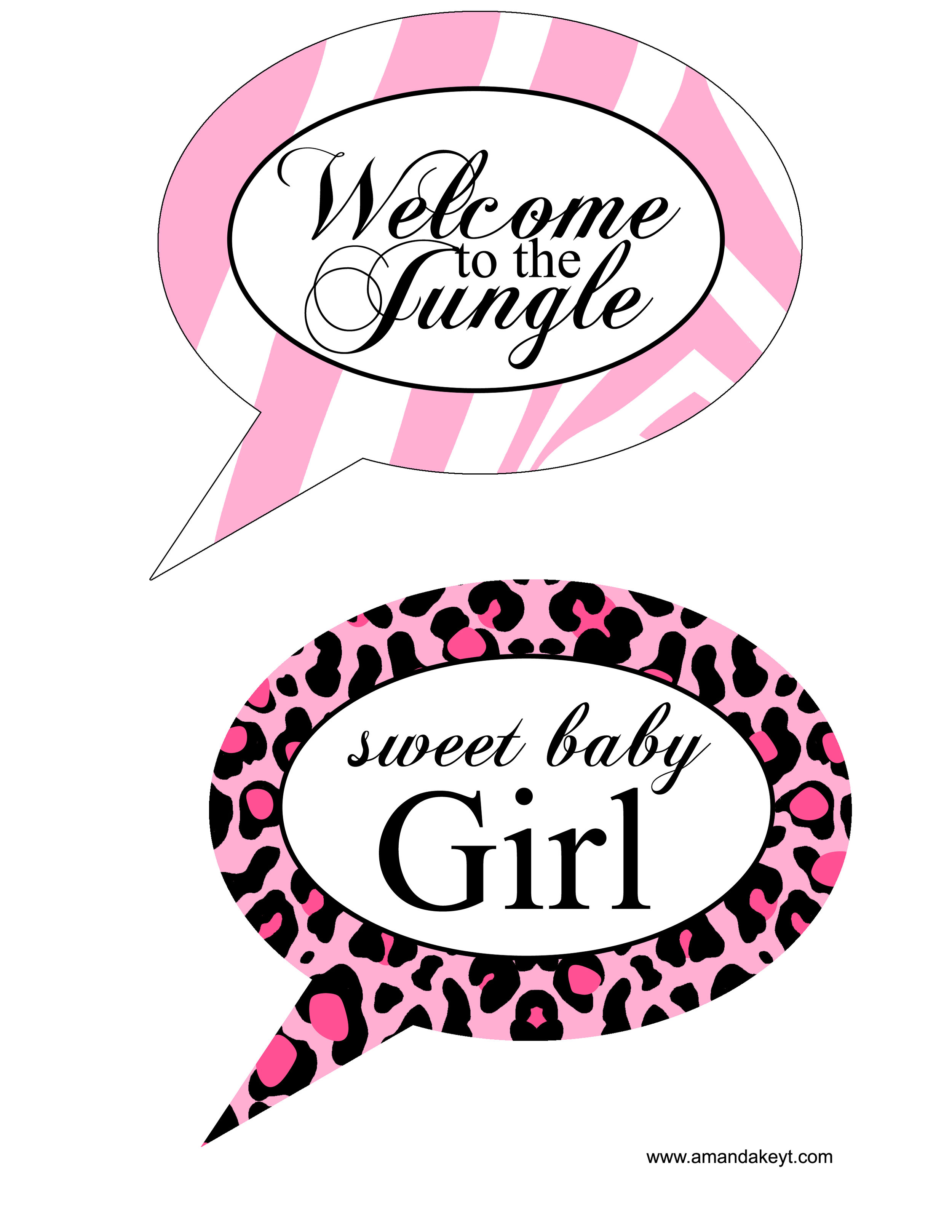 Baby Jungle Print