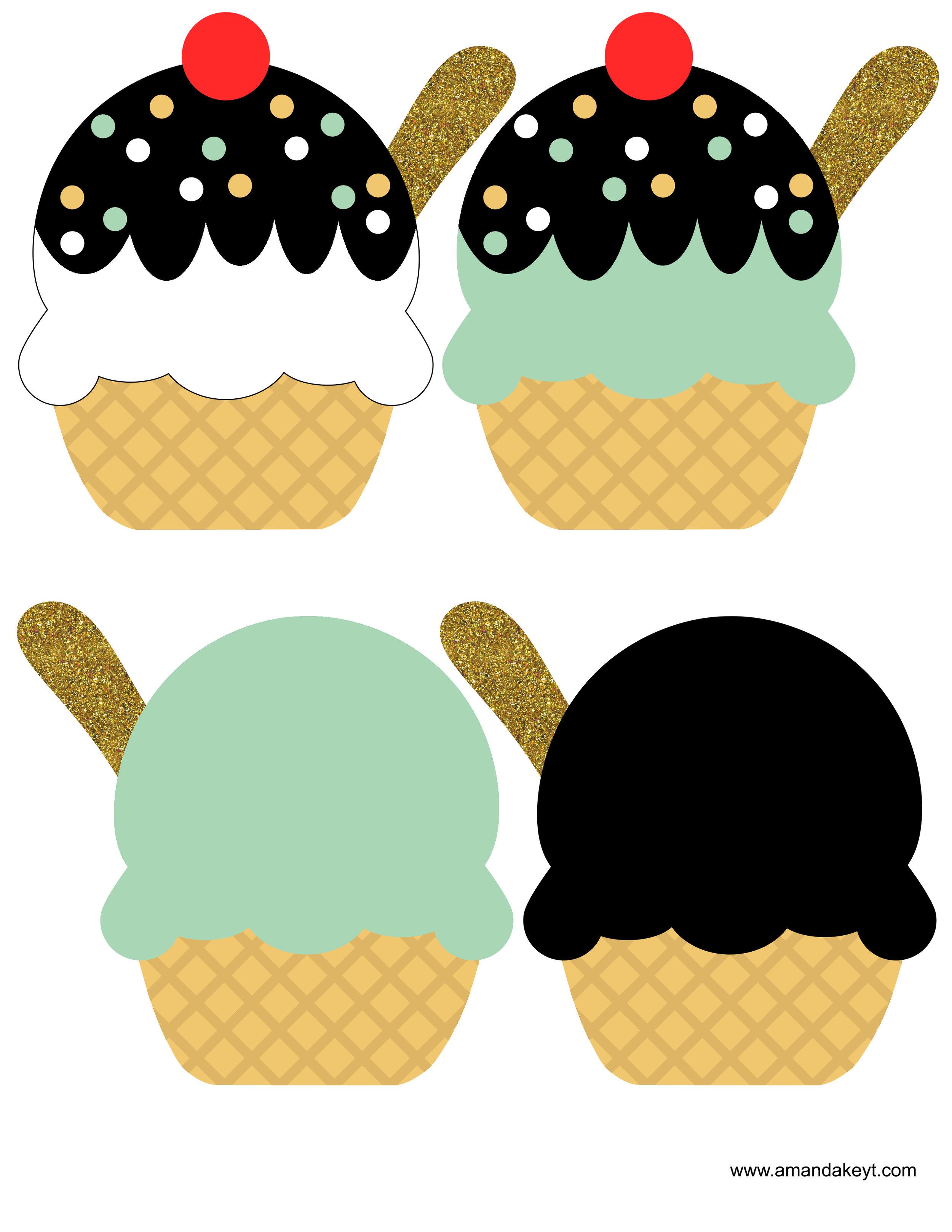 Mint Icecream Twins