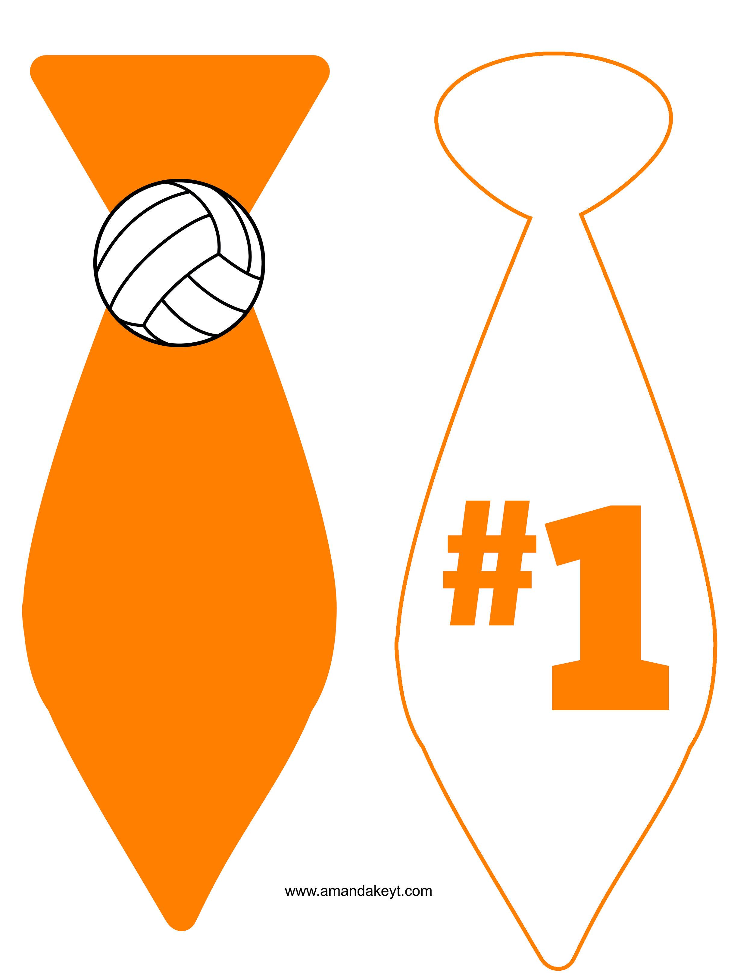 Orange Volleyball