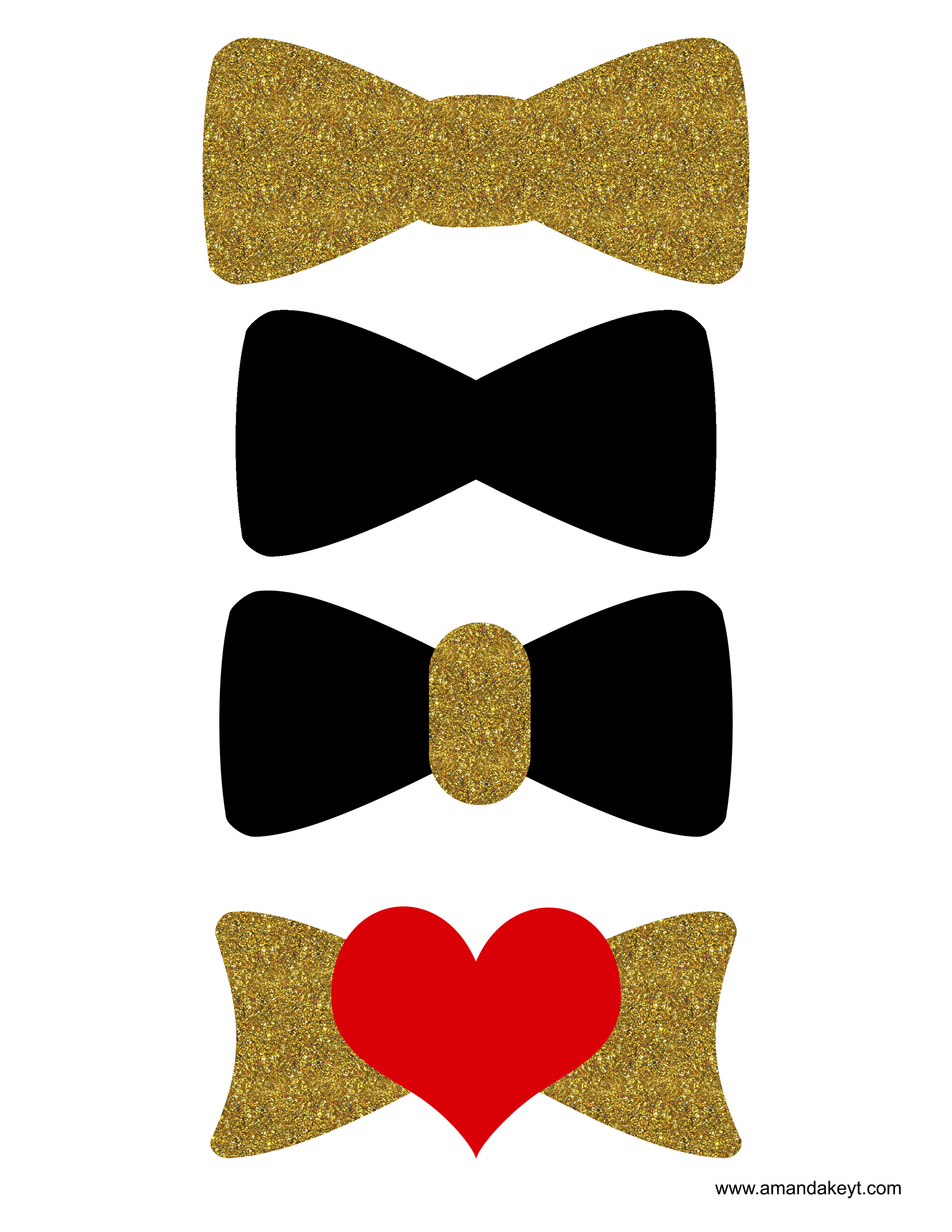 Gold Black Wedding