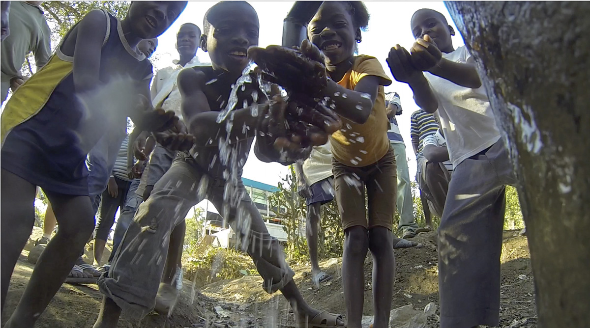 Where there is fresh water there is hope, bringing life back to a Haitian village.