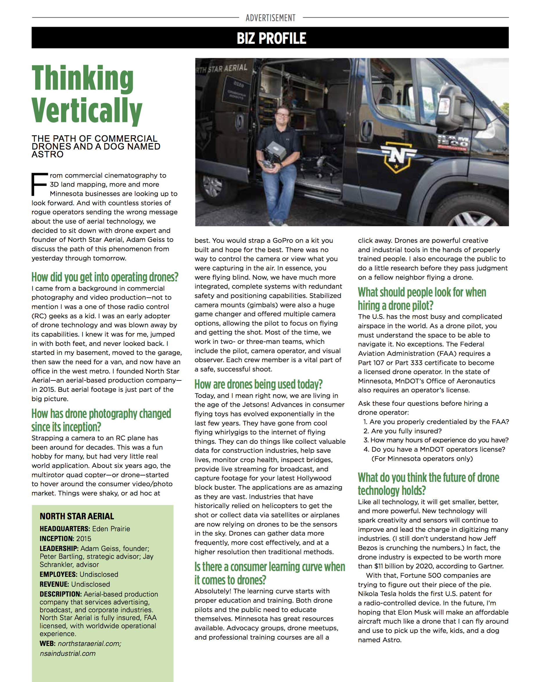 MN Business Article
