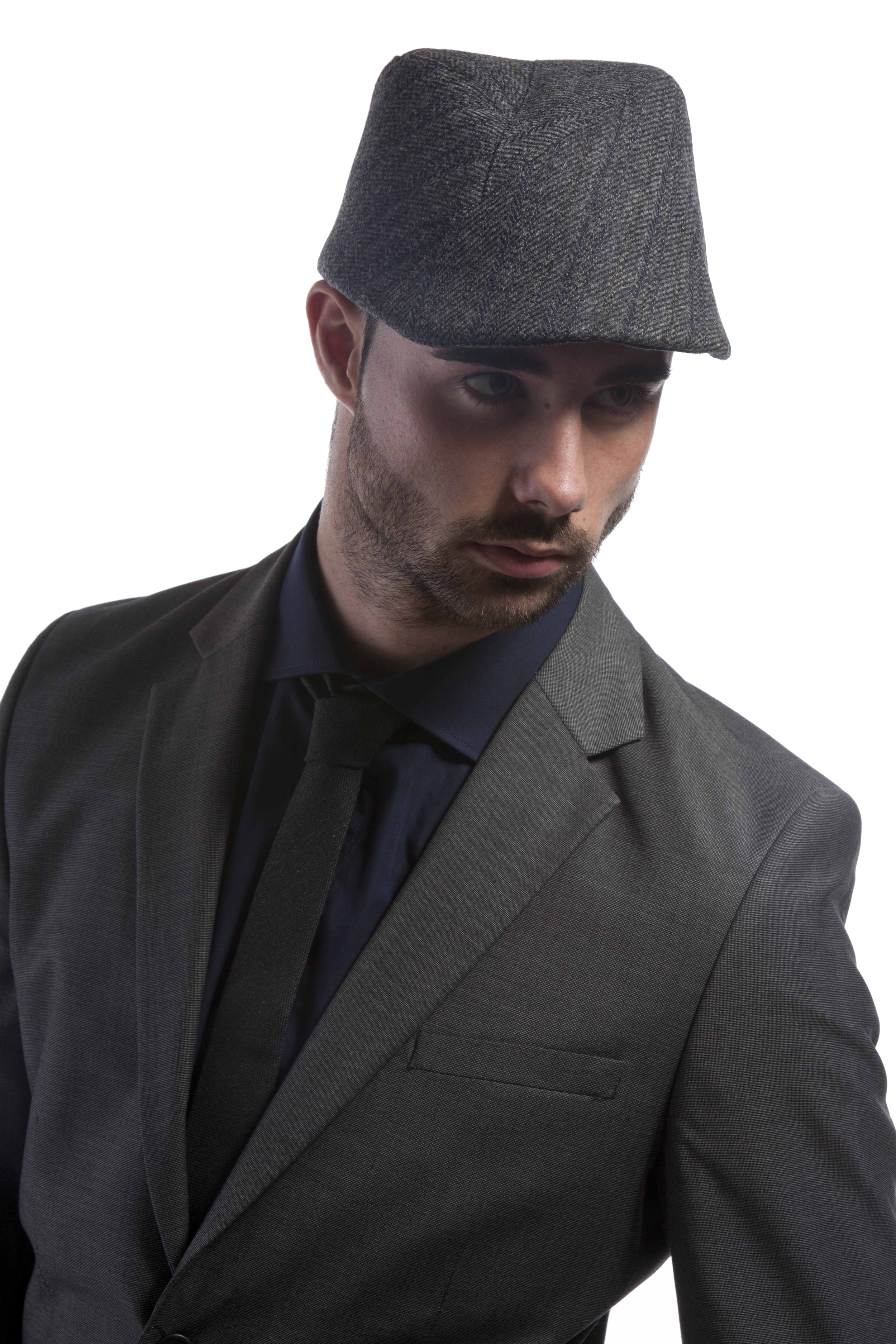 'Chicago' flat cap