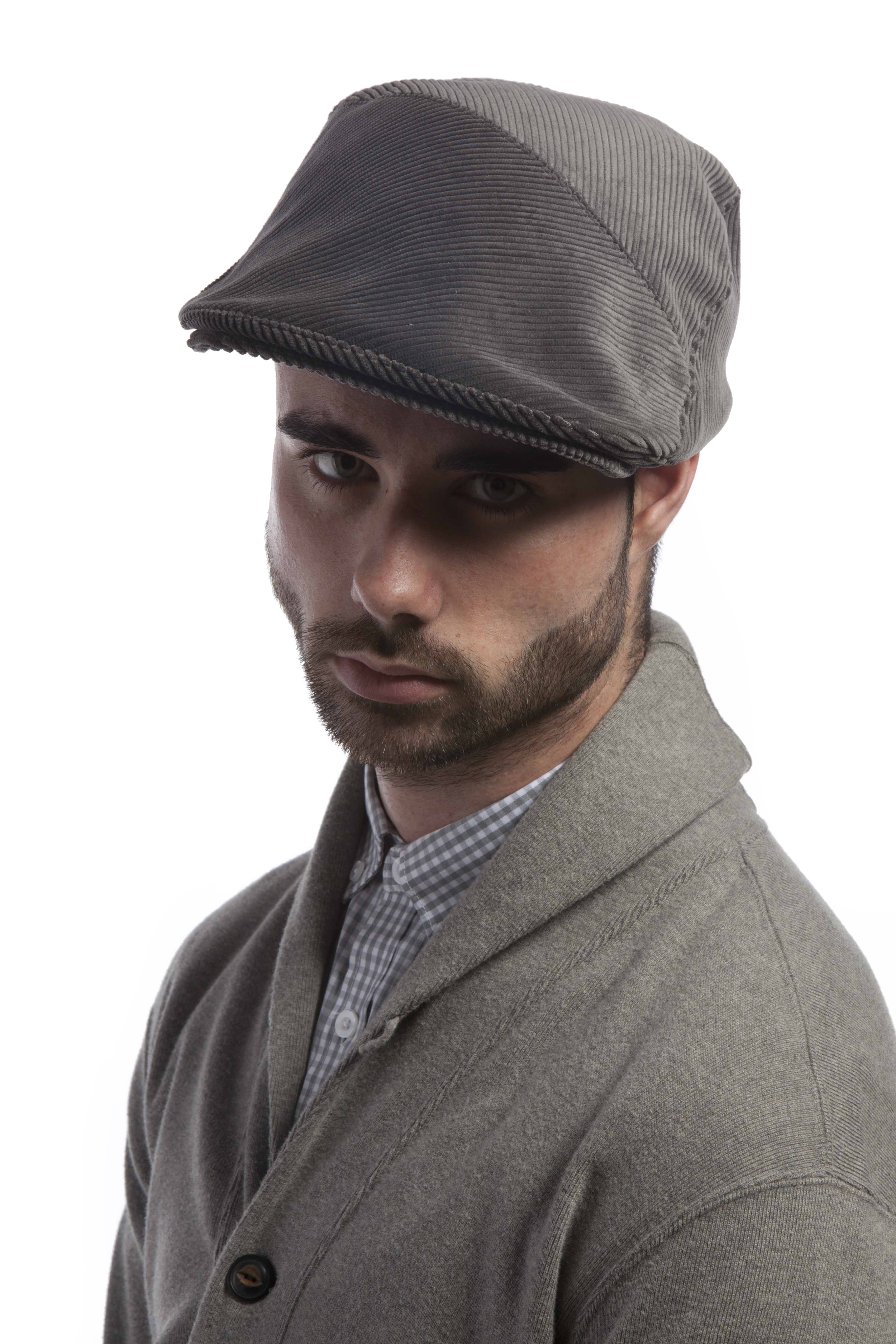 'Stirling' flat cap