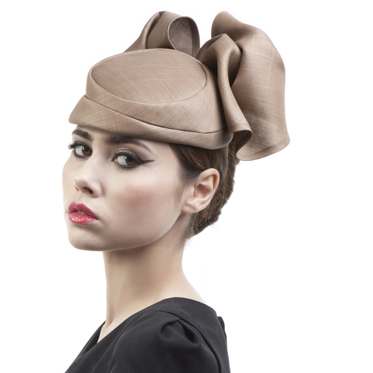 'Samantha' pillbox hat