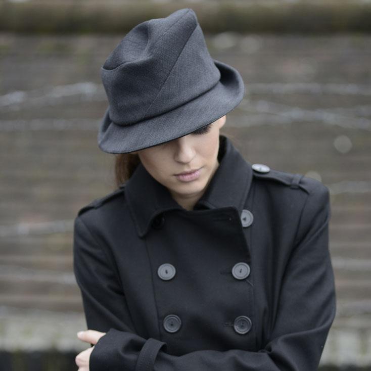 'Sedley' trilby hat