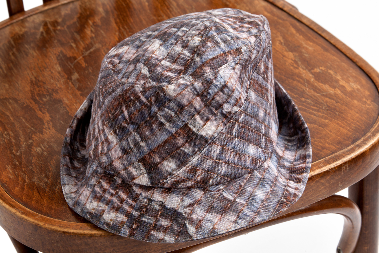 Sedley - linen hat, £185, available to  buy online