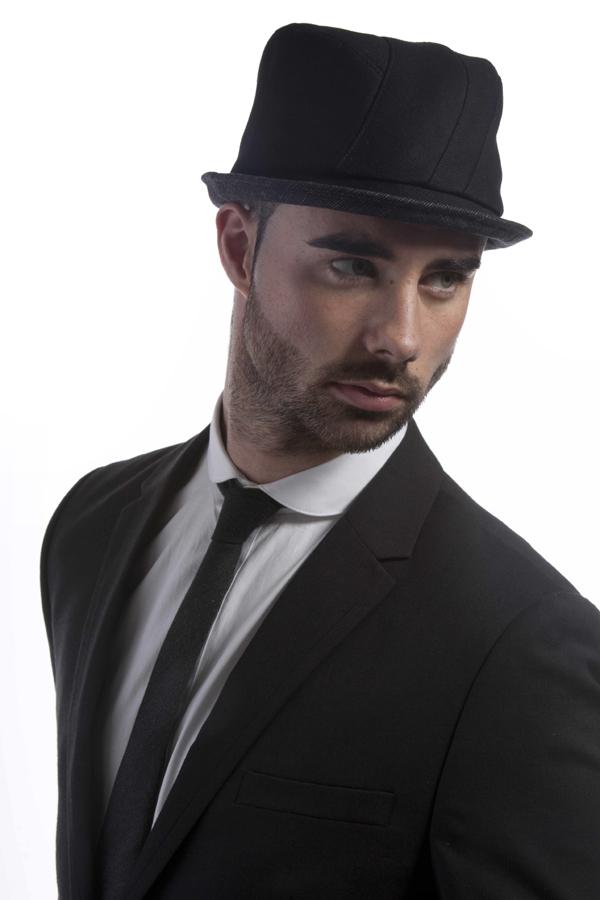 'Finlay' pork-pie style hat