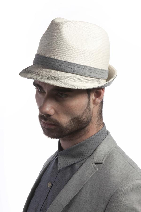 'Sky' panama hat