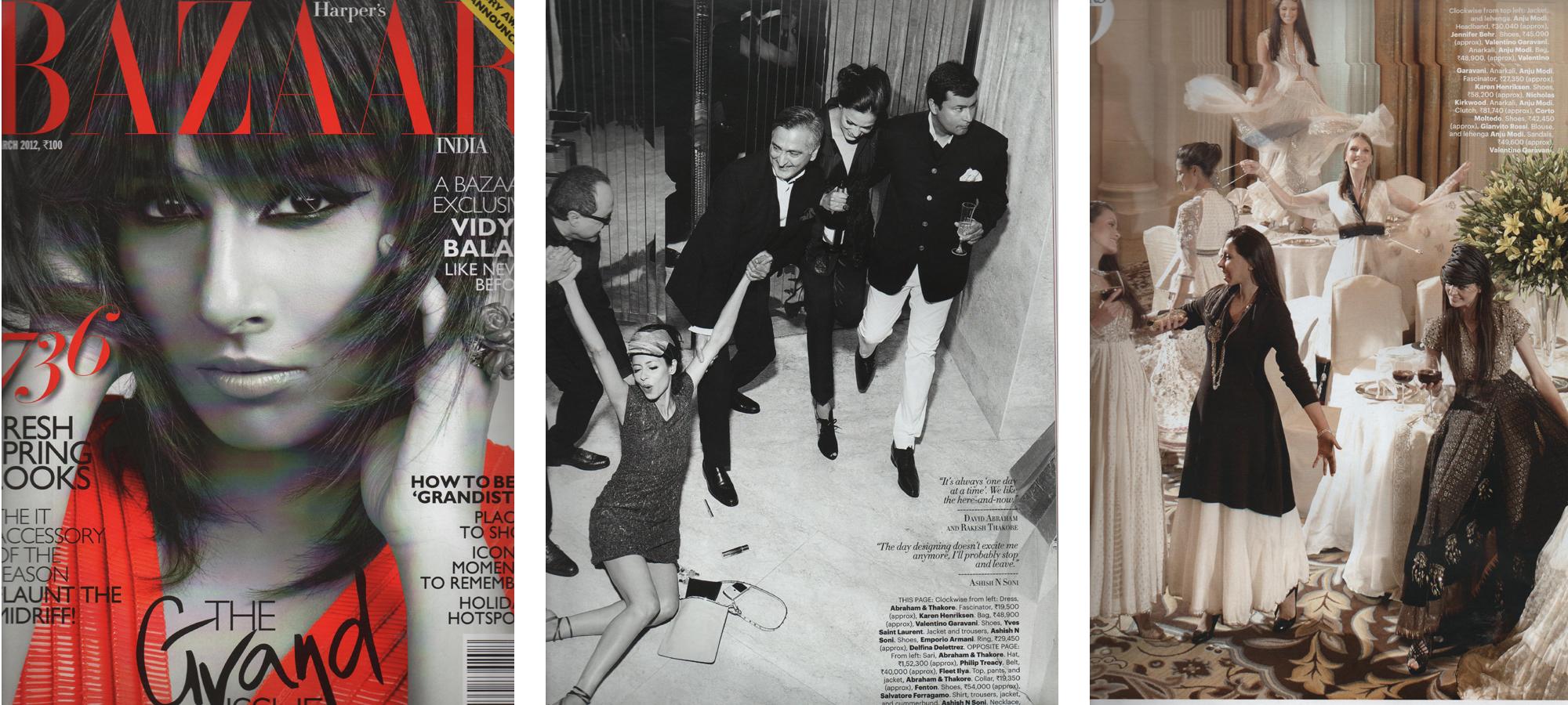 Harpers Bazaar India March 2012