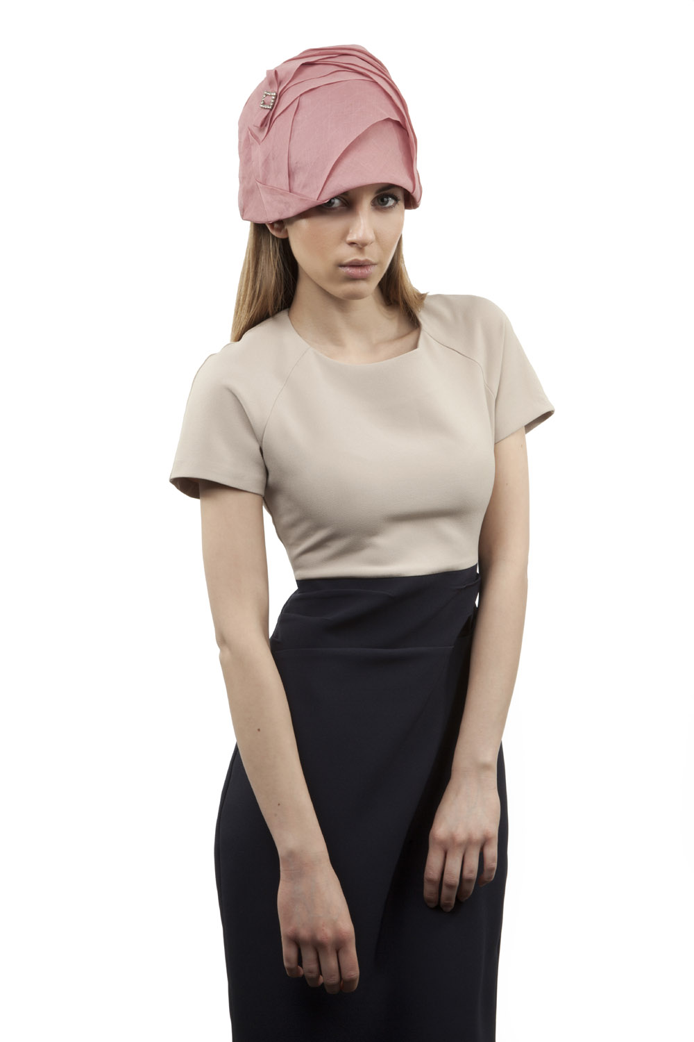 'Marianne' cloche hat