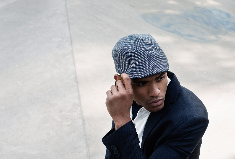 'Coram' flat cap