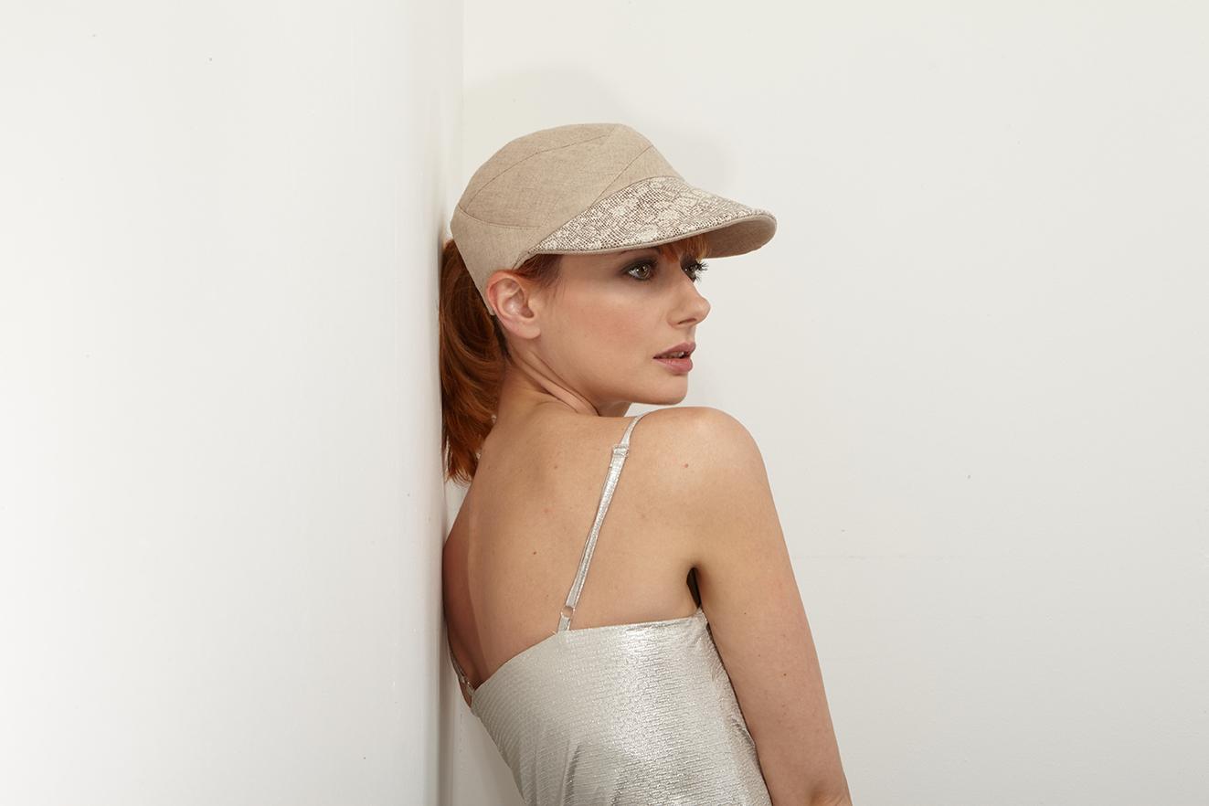 'Ally' peaked cap