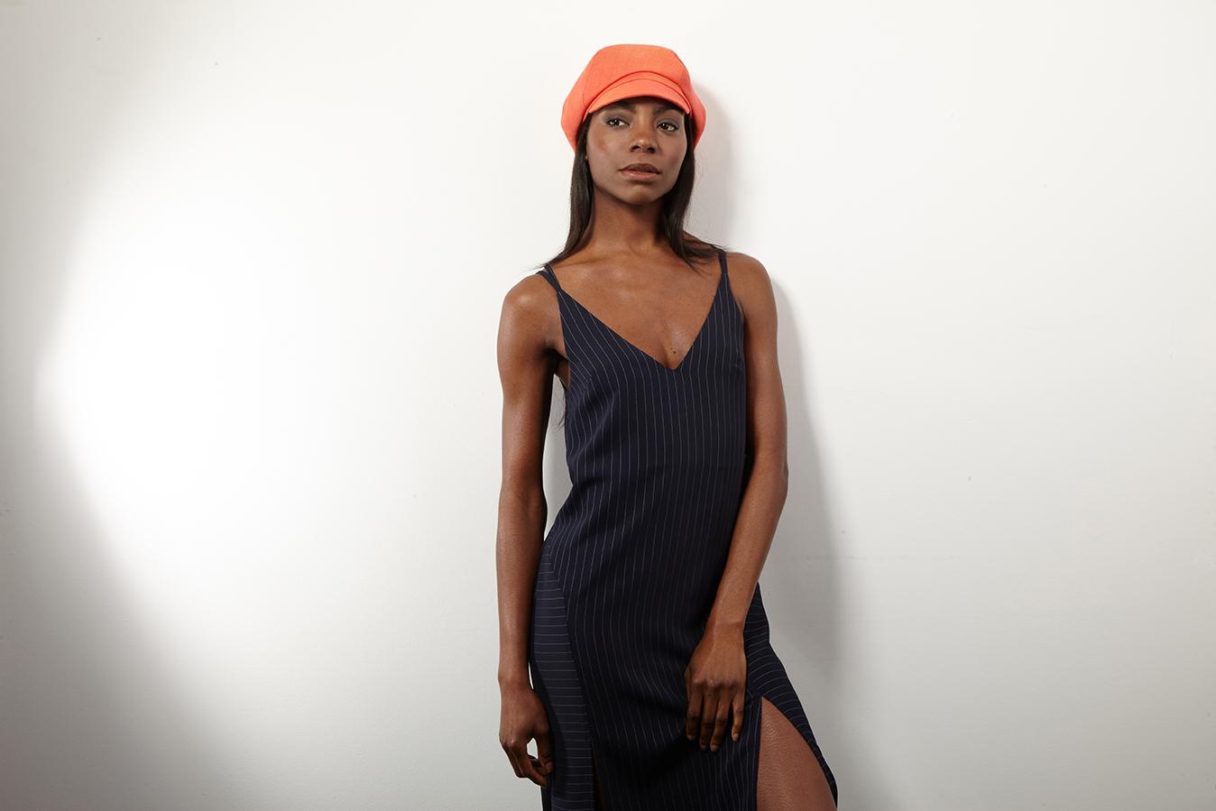 'Linda' beret-cap