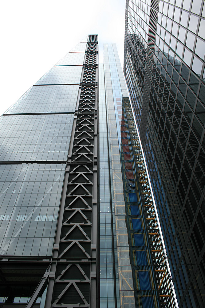 Detail from the Leadenhall Building