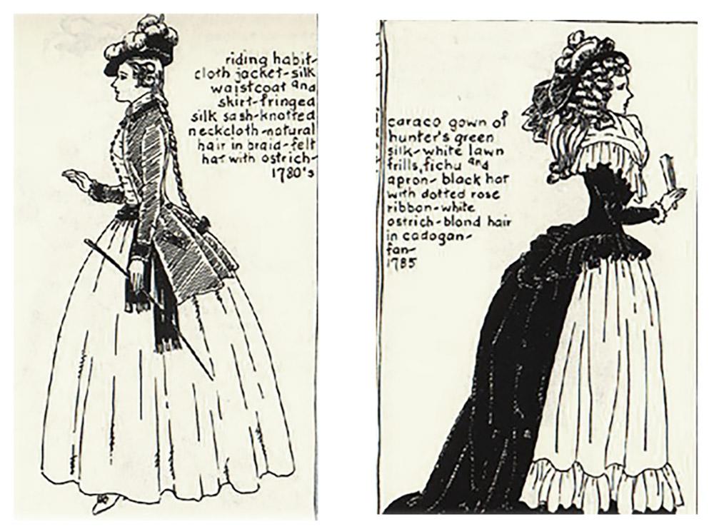Late 18th Century fashion inspiration