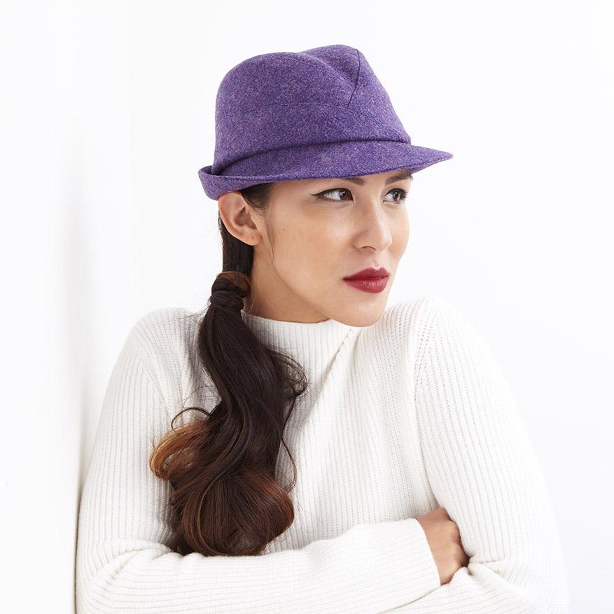 'Garbo' trilby hat  buy online