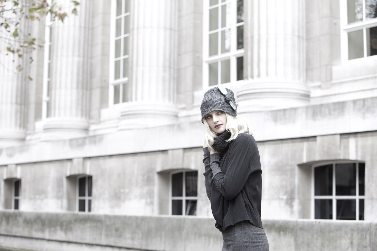 'Anne' cloche hat