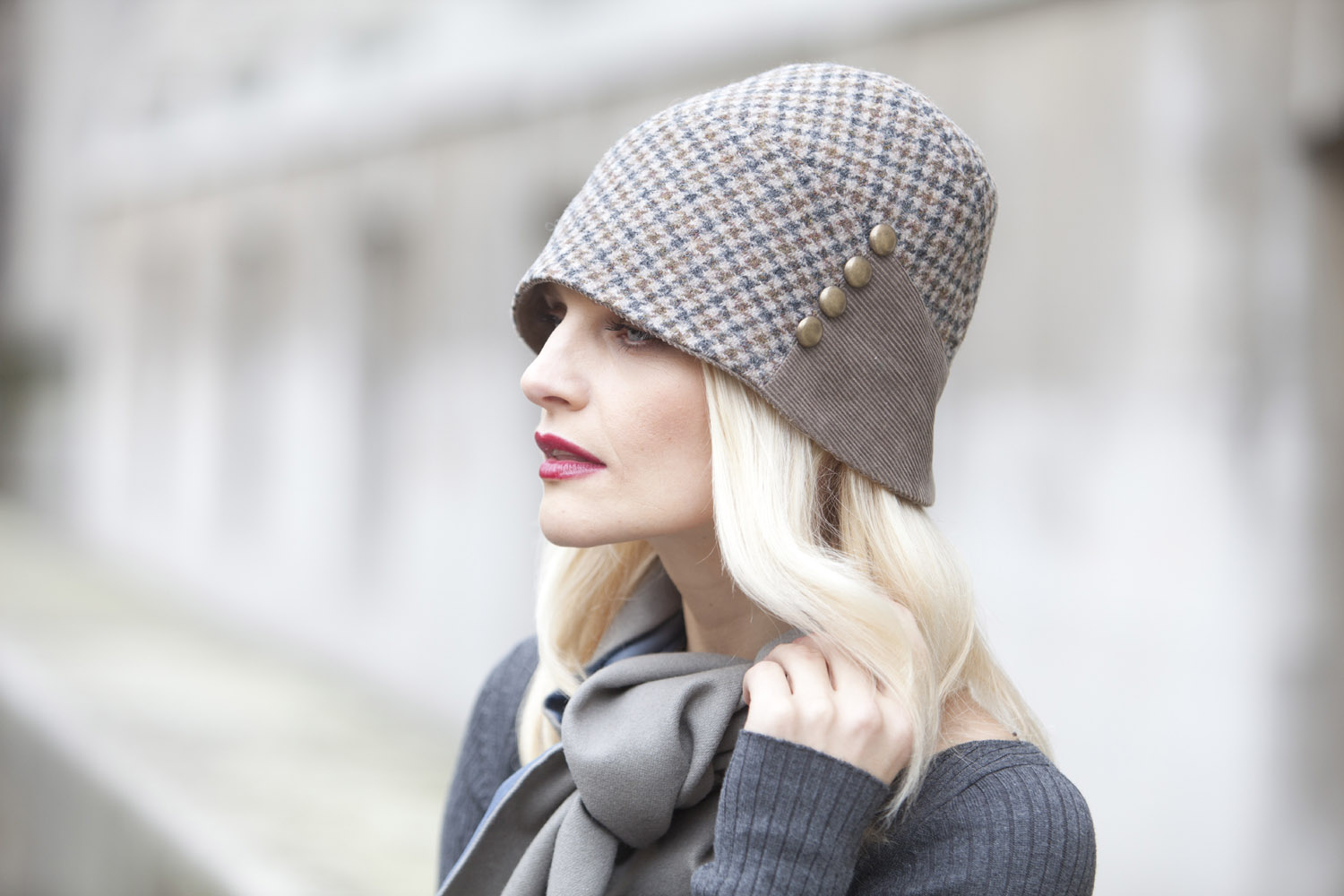 'Virginia' cloche hat
