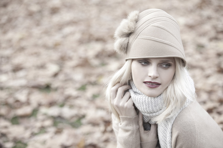 'Savoy/Luxe' toque hat