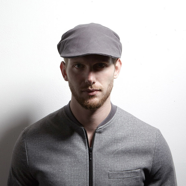 4ea724ef NEW - Men's Flat Cap in Wax Cotton Twill - 'Bingley' in grey, black ...