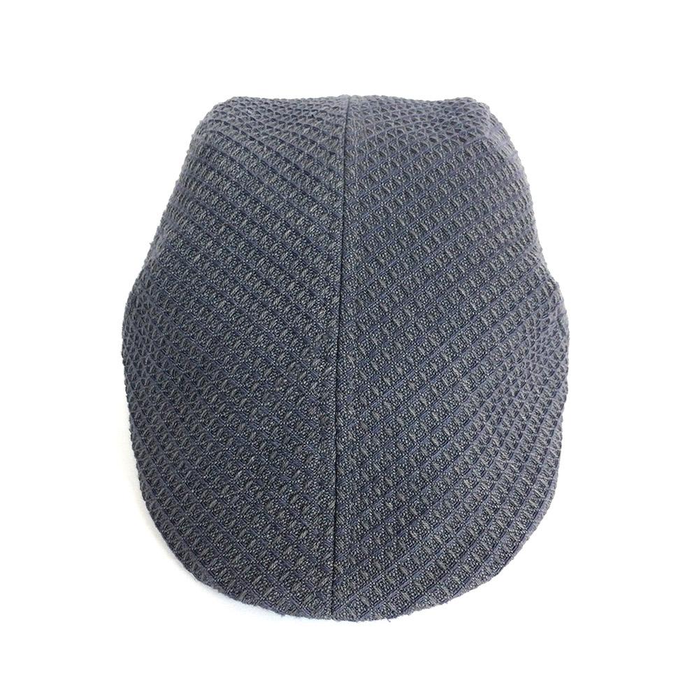 Organic Cotton Flat Cap For Men - 'Otley' In Warm Grey