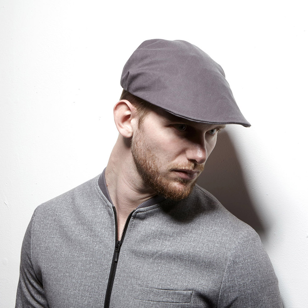Bingley flat cap with pleats at the back adding a little width.