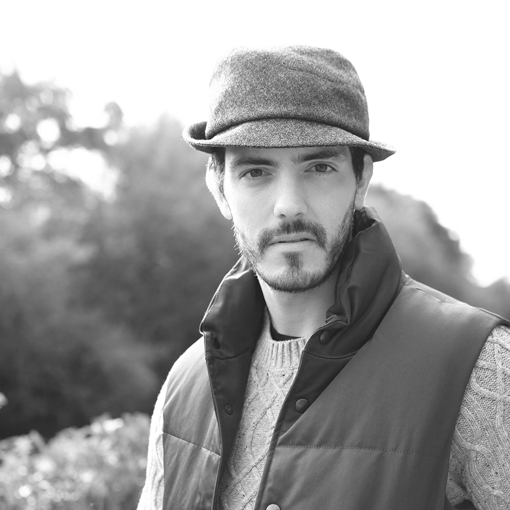 Hector, a trilby hat with a softer crown and a little asymmetry in the design.