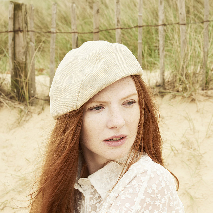 Aimee, a versatile and easy to wear beret.