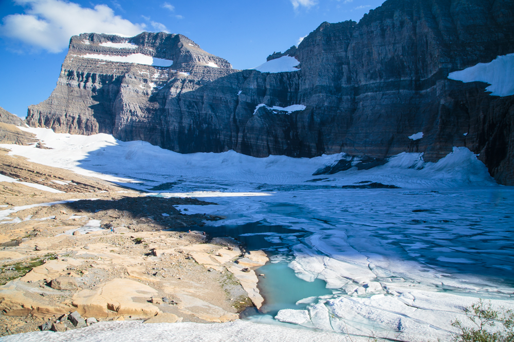Grinnell Glacier.
