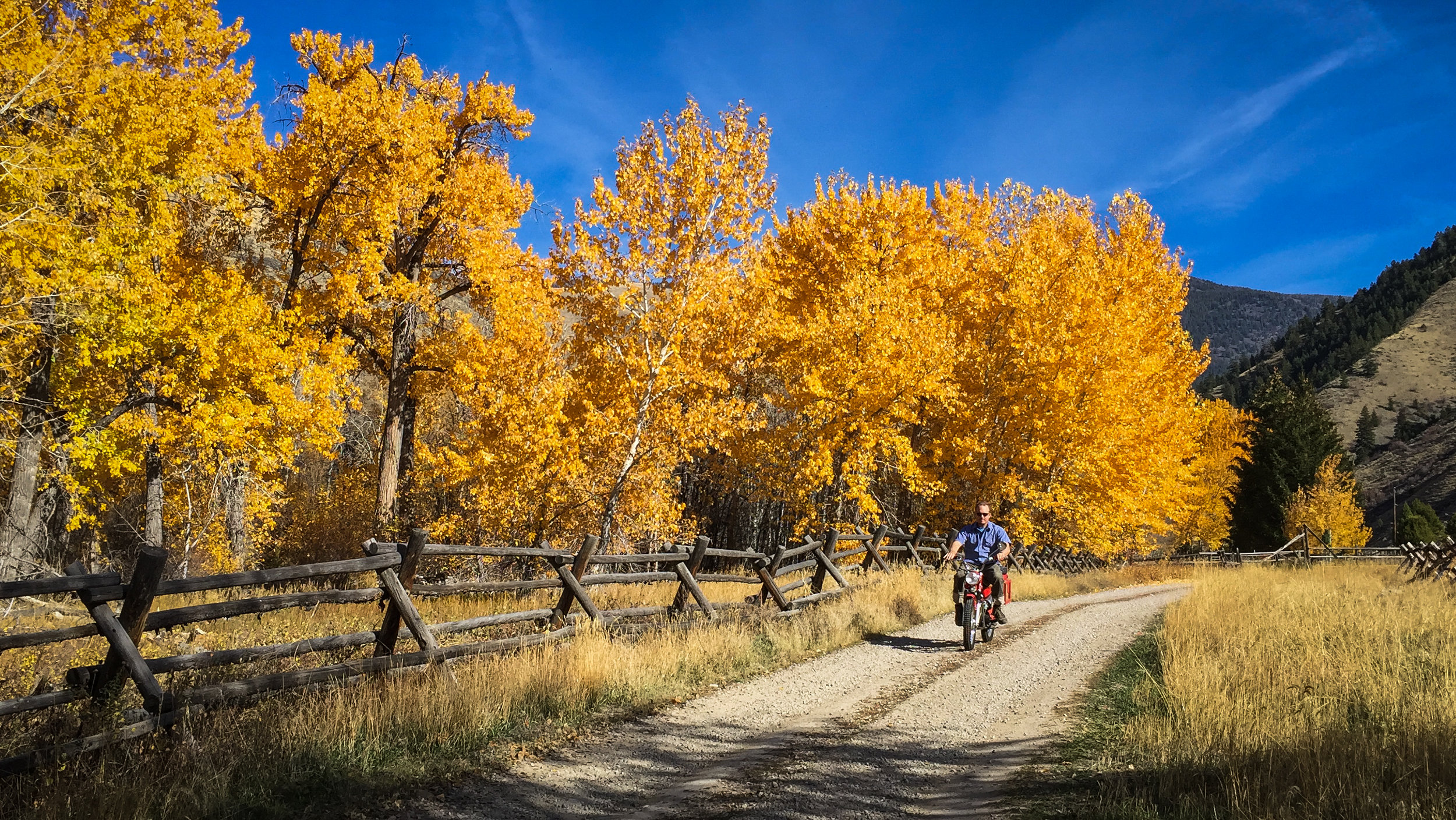 BRAAAAAAAAAAAAP!!!!!! Someday we'll take these bikes on a long trip. Not this year, though.