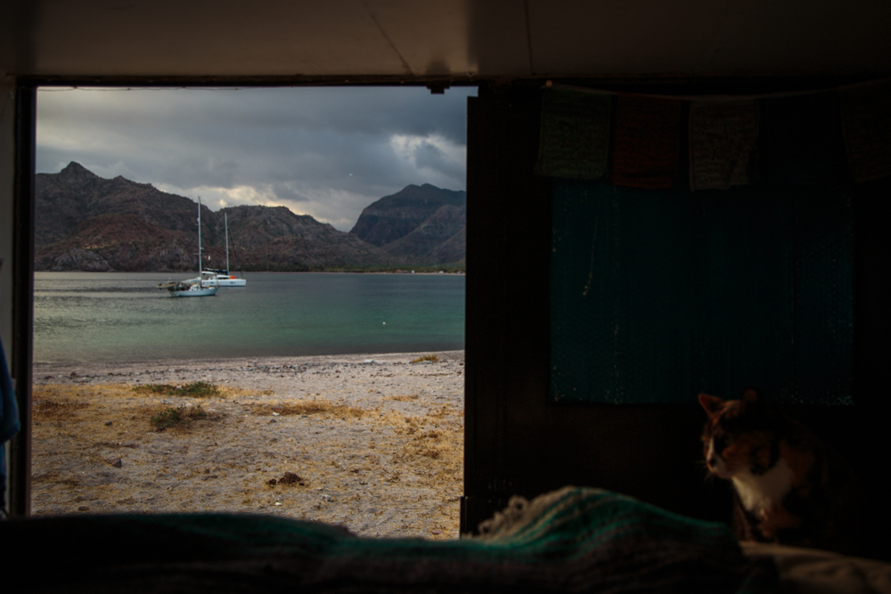 The weather turned on the last morning and we headed out to Loreto.
