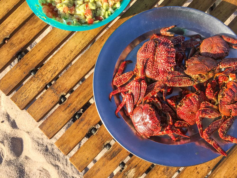 Tasty crabs.