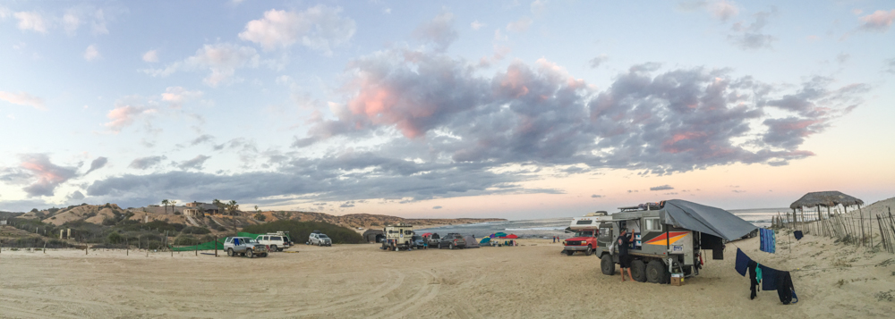 It was quite a pretty places to camp for a few days.
