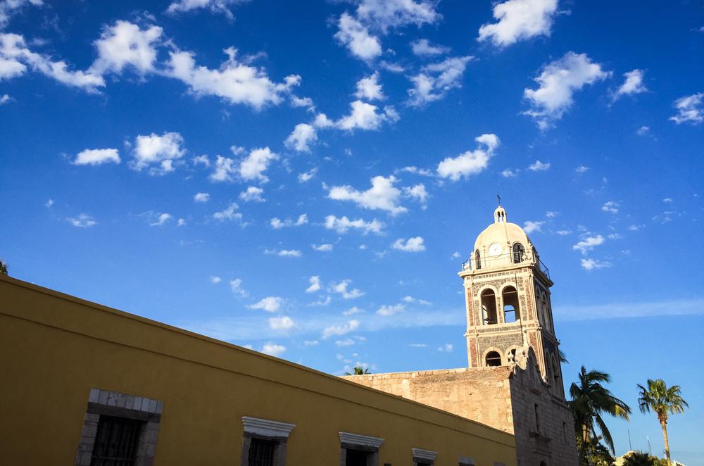Loreto's beautiful downtown church.
