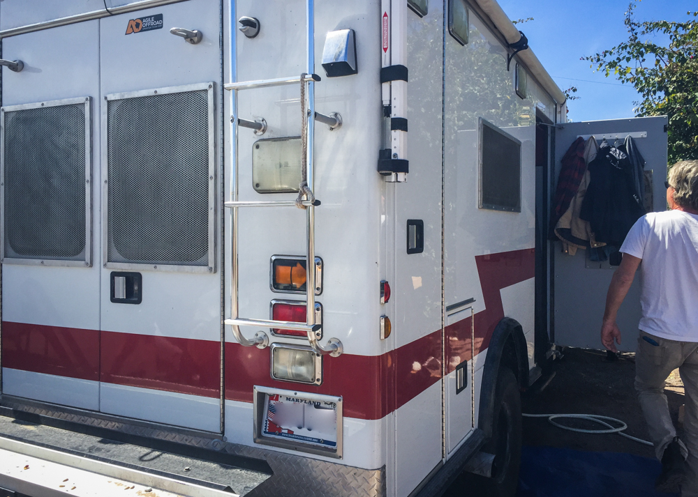 We're  always interested in an ambulance!
