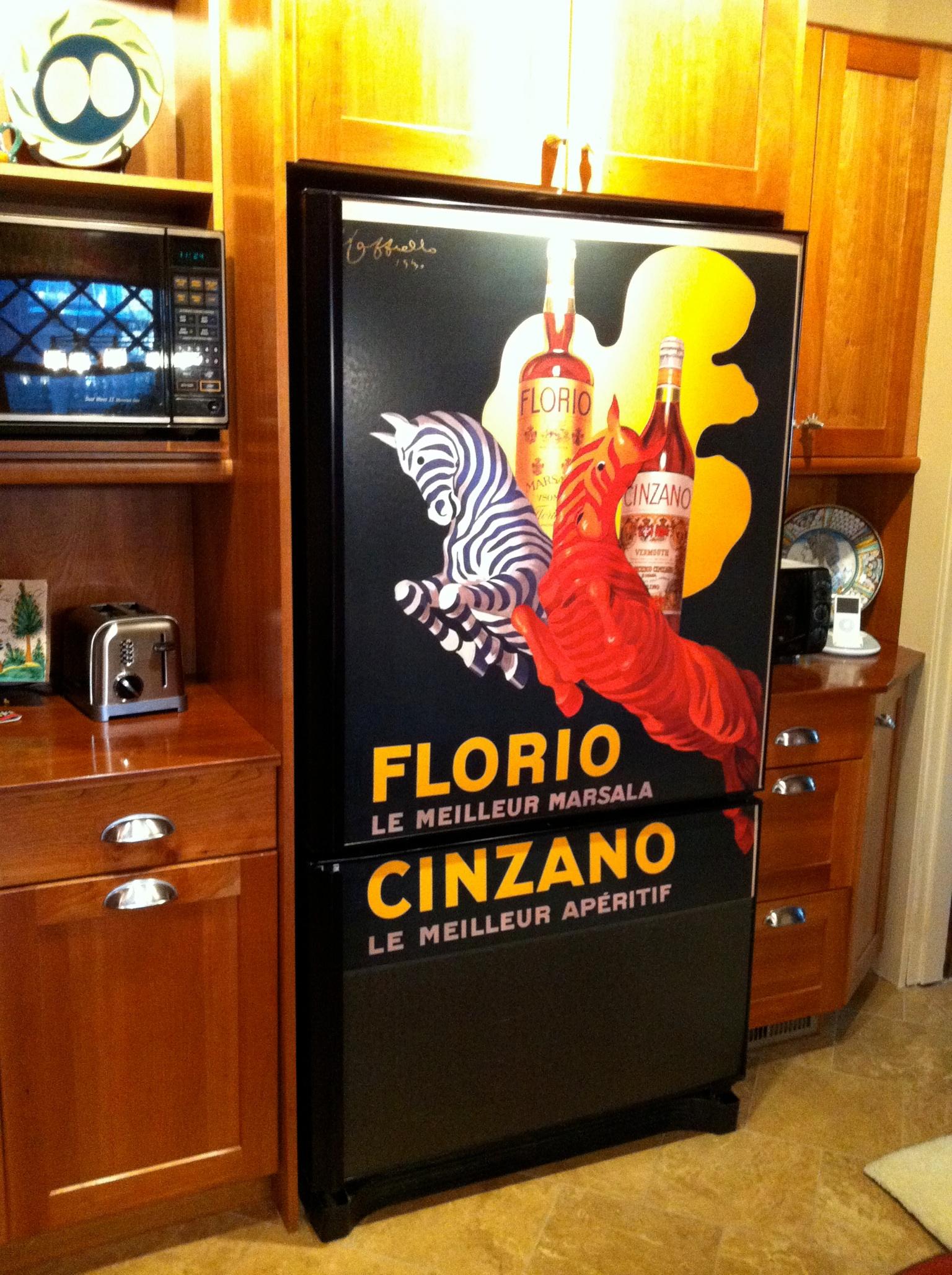 The first fridge