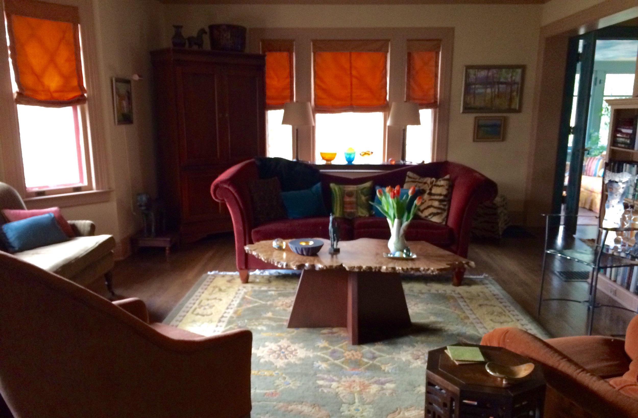 The original living room