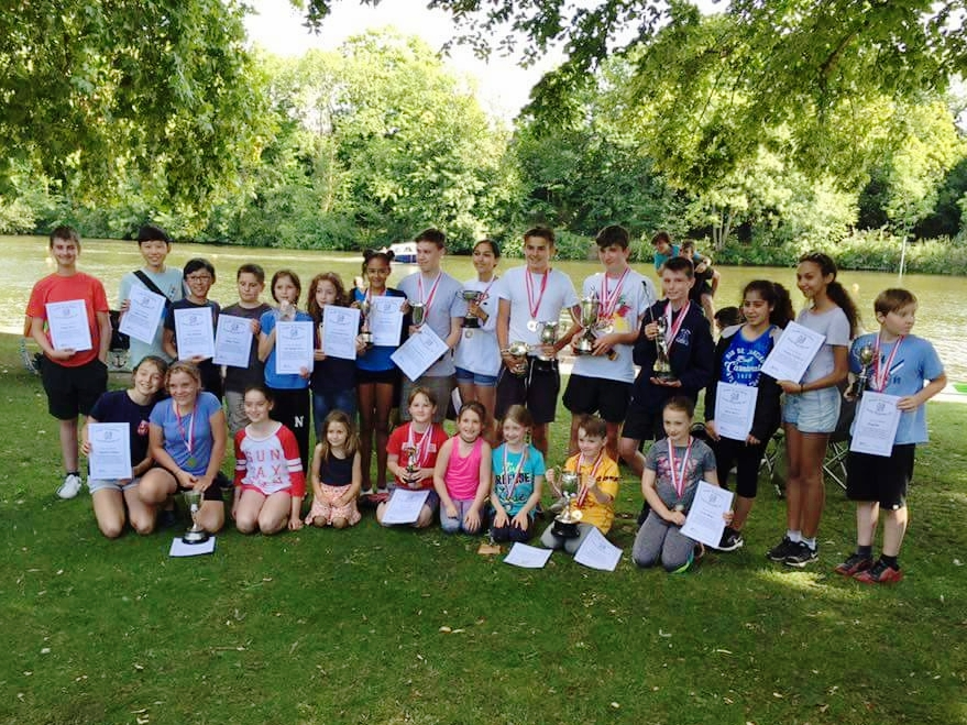 Edith Topsfield Junior Regatta Winners 2017 -