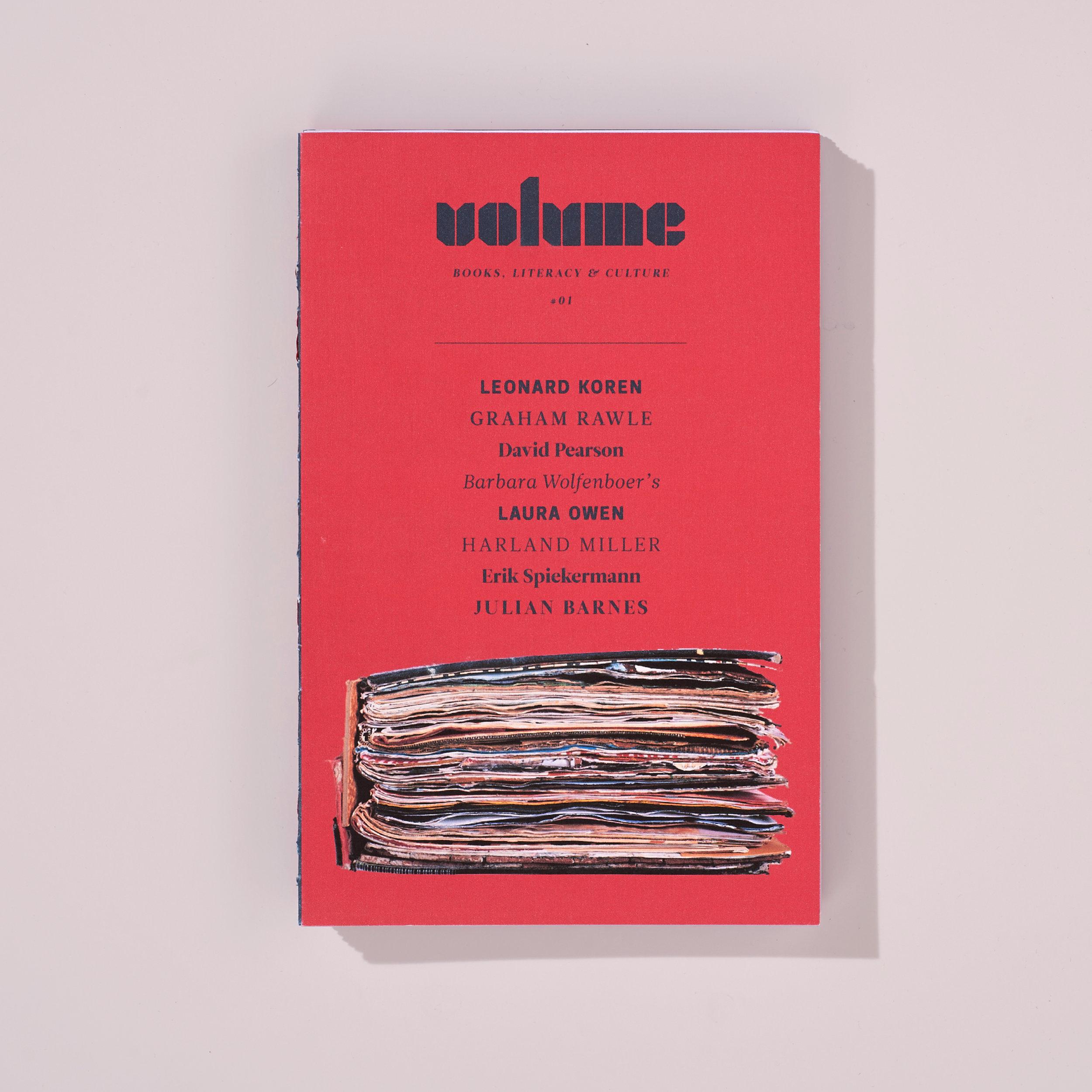 #1 - Volume Magazine / Design Concept