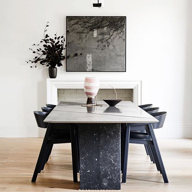 Black & White Delight ⚫️⚪️ @jelenadesignstudio @est_living