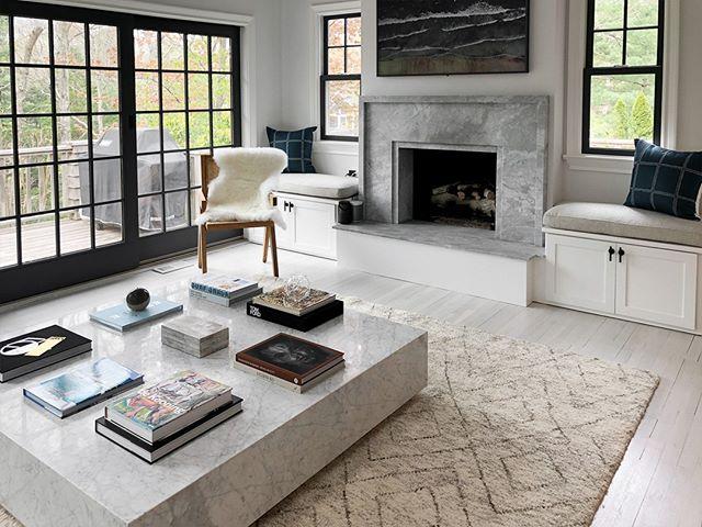 Hooked on the coffee table we chose for our Settlers Landing project. It's perfectly simple!  Design by @aliciamurphydesign . . . #aliciamurphydesign #custominteriors #homesweethome #luxuryliving #hamptonshome #homestyle #modernhomes #styleathome #homedecor #customdesign #designandbuild #customfurniture #creativityfound #designdetails #interiordetails #homedesign #homerenovation #flashesofdelight #cozyhome #interiorstyling #dayinthelife #interiordesignerlife #nycinteriordesign #customhomes #customlifestyle #homestyling #ihaveathingwithfloors #livingroomdesign #coffeetable #moderndecor
