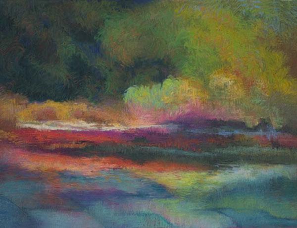 A Vivid Reflection, Pastel