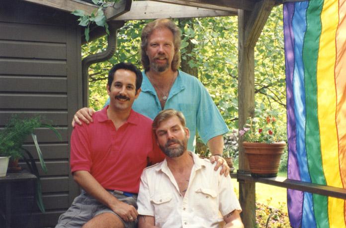 Darren, Norman, and Tom. 1989