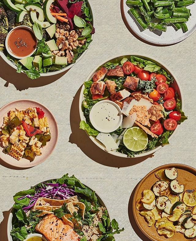 New work for @Sweetgreen. Thanks to @whitelux and @melanieweiner. Photo by @nicholasscarpinato