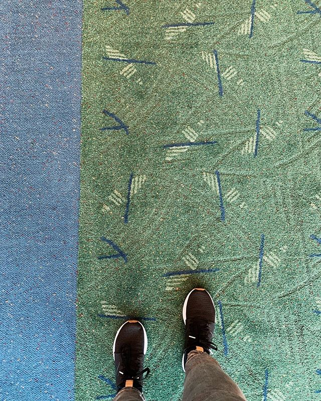 And this carpet marks the end of a really great trip. Till next time, Oregon 💕