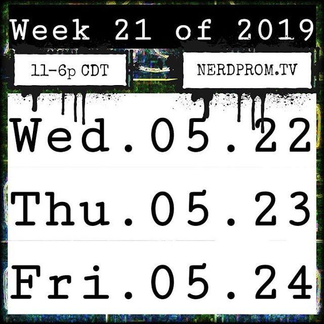 Week 21 of 2019: @nerdpromtv . . . . . #BaqBeet #TwitchStreamers #MyFriendsDoStuff #NintendoSwitch #nerdpromtv #NintendoFan #NintendoGamer #Switch #TwitchCommunity #TwitchKittens #PlayAllDay #Gamers4Life #StreamLife #InstaGamer #InstaGames #GamersOfInstagram #NintendoMemes #Nin10do #ExploreStLouis #SuperSmashBrosUltimate #SmashBros #StLouis #ExploreStLouis #TwitchStLouis #NerdProm #EnterTheGungeon #Cuphead #NerdProm