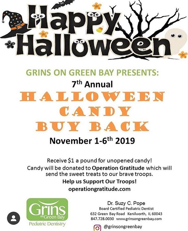 Looking for something to do with your extra candy? Here's an idea from @grinsongreenbay!