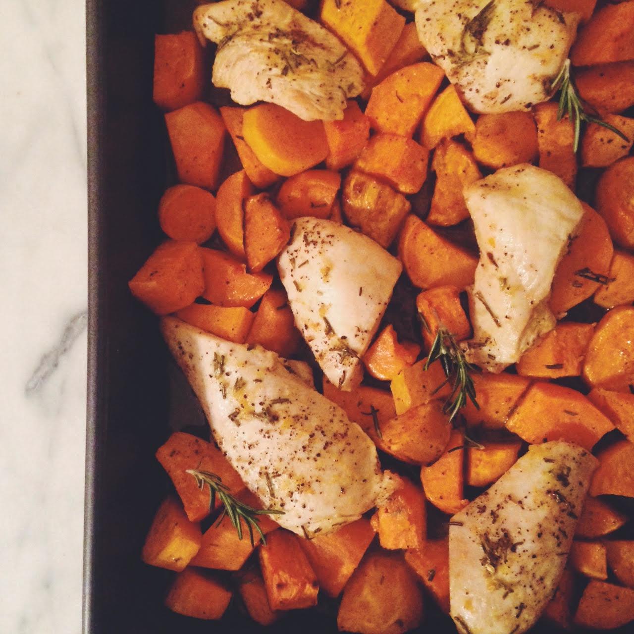 sweet potato dinner
