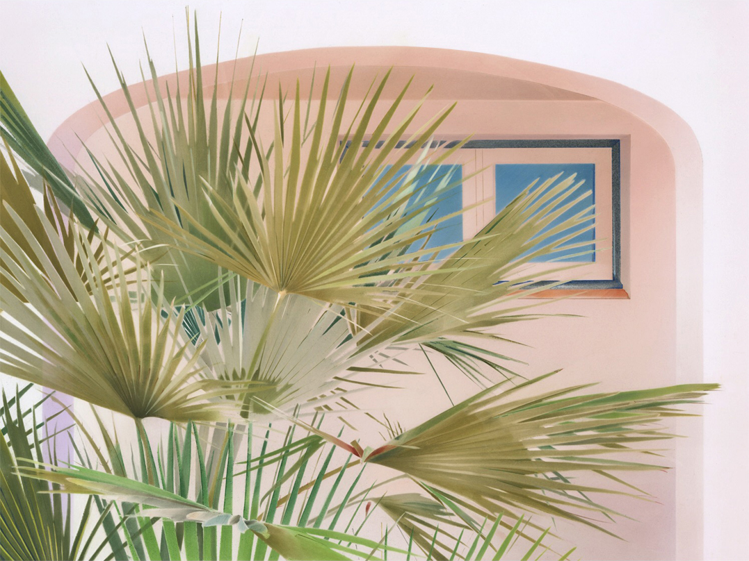 annarobertsstudio :     'Palms 01′ - pastel and pencil on paper